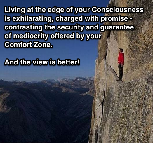 Living on The Edge!